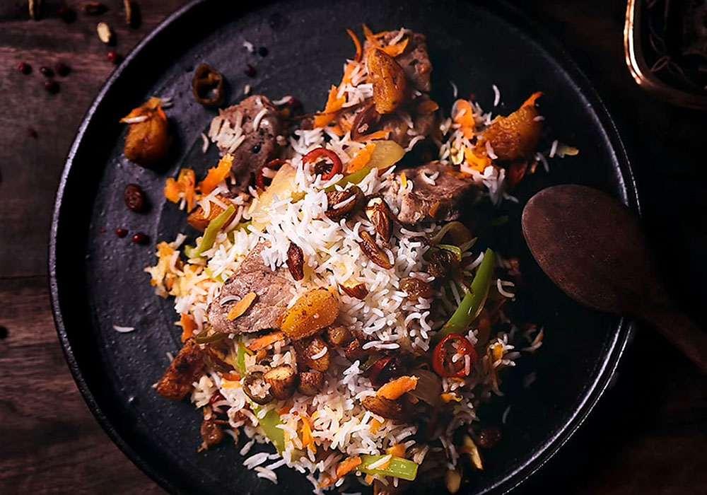 Рисовая каша c курагой - пошаговый рецепт, фото 1