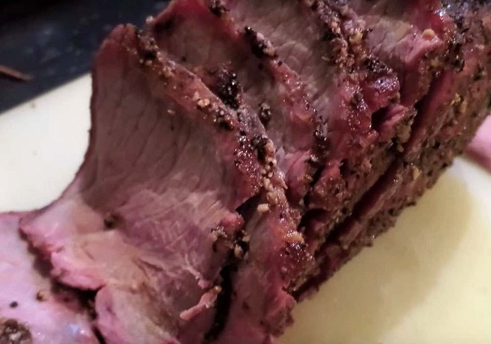 Ростбиф из говядины на гриле - пошаговый рецепт, фото 1