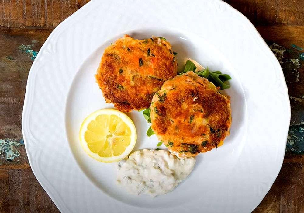 Пісні рибні котлети з сьомги - покроковий рецепт, фото 1