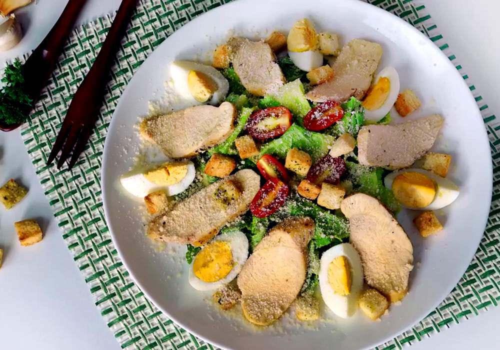 Салат цезарь классический - пошаговый рецепт, фото 1