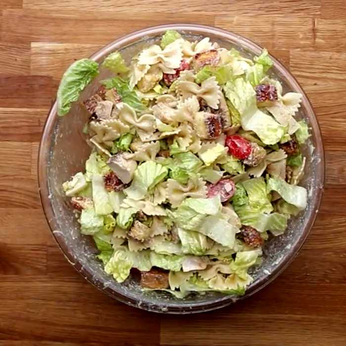 Салат цезарь оригинальный рецепт - пошаговый рецепт, фото 1