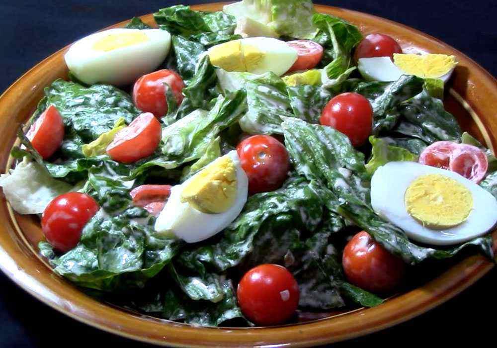 Салат Цезарь с помидорами - пошаговый рецепт, фото 1