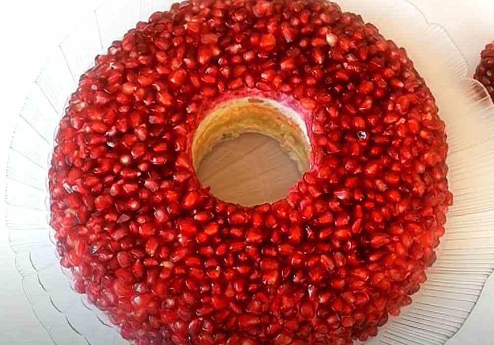 Салат Гранатовый браслет - пошаговый рецепт, фото 1