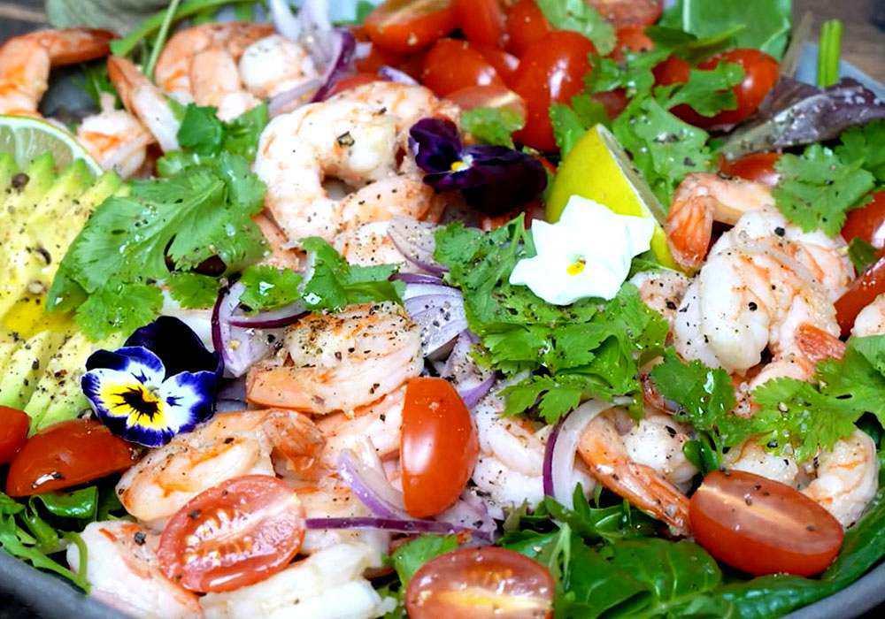 Салат з авокадо - покроковий рецепт, фото 1