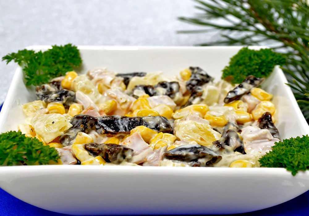 Салат из копченой курицы - пошаговый рецепт, фото 1