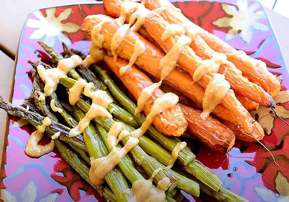 Салат из спаржи по-корейски с морковью - пошаговый рецепт, фото 1