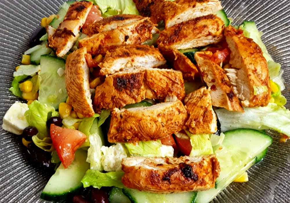 Салат «Курица под кайфом» - пошаговый рецепт, фото 1