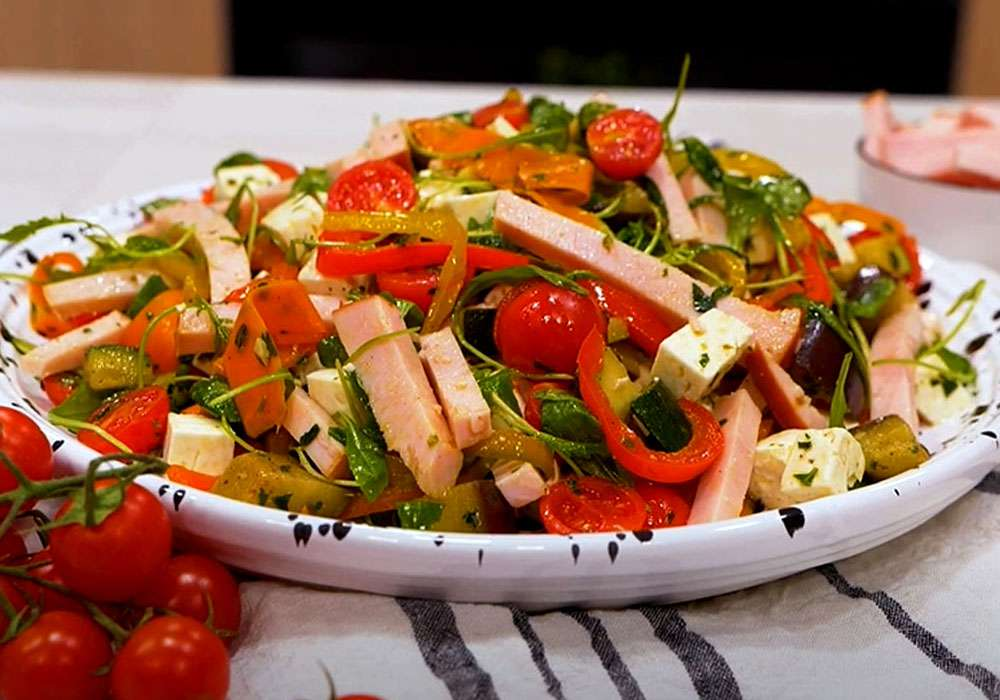 Салат на свято і кожен день - покроковий рецепт, фото 1
