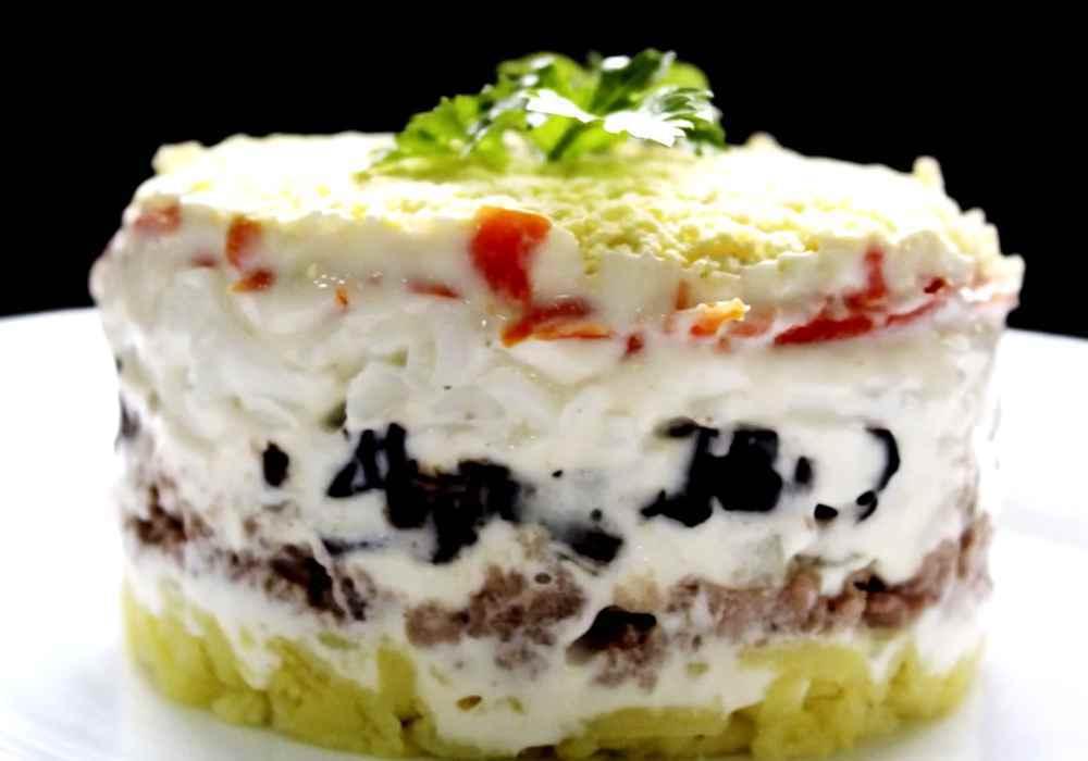 Салат ніжність з чорносливом - покроковий рецепт, фото 1