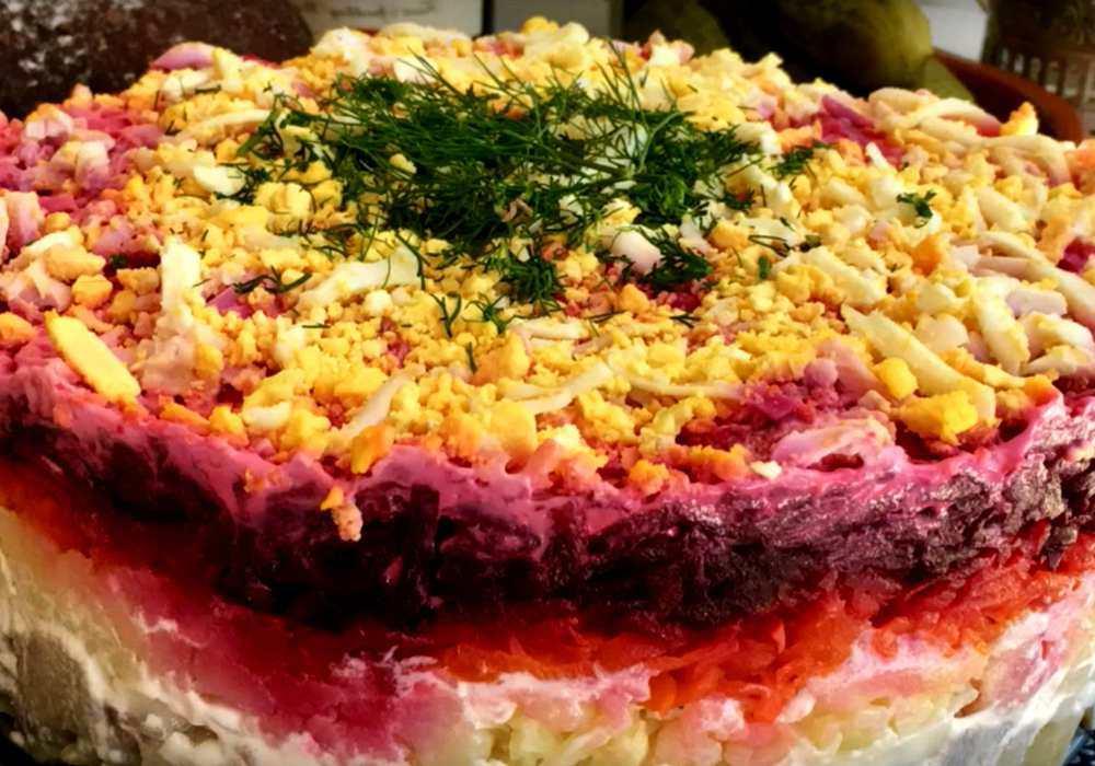 Салат под шубой классический - пошаговый рецепт, фото 1