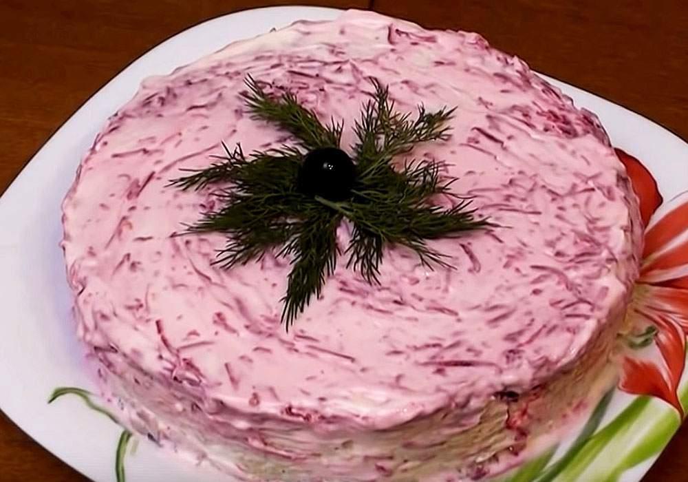 Салат под шубой - пошаговый рецепт, фото 1
