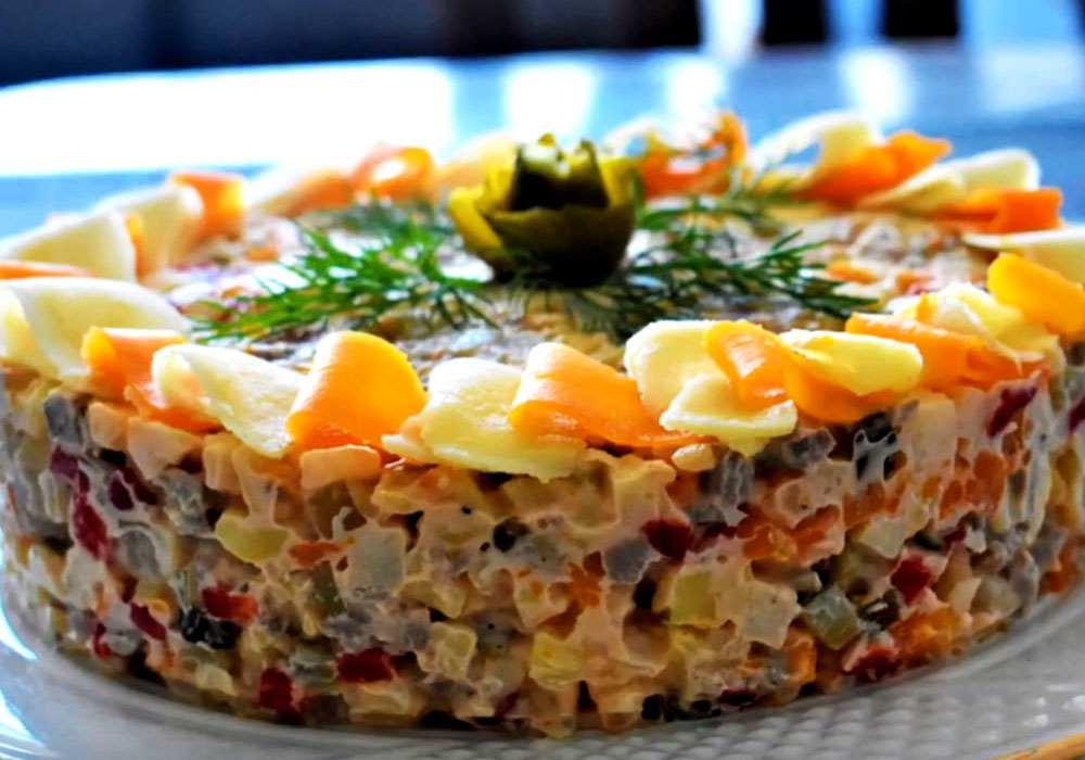 Салат з яловичим язиком - покроковий рецепт, фото 1