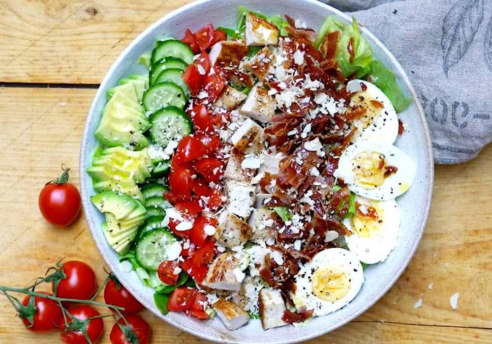 Салат з індичкою - покроковий рецепт, фото 1