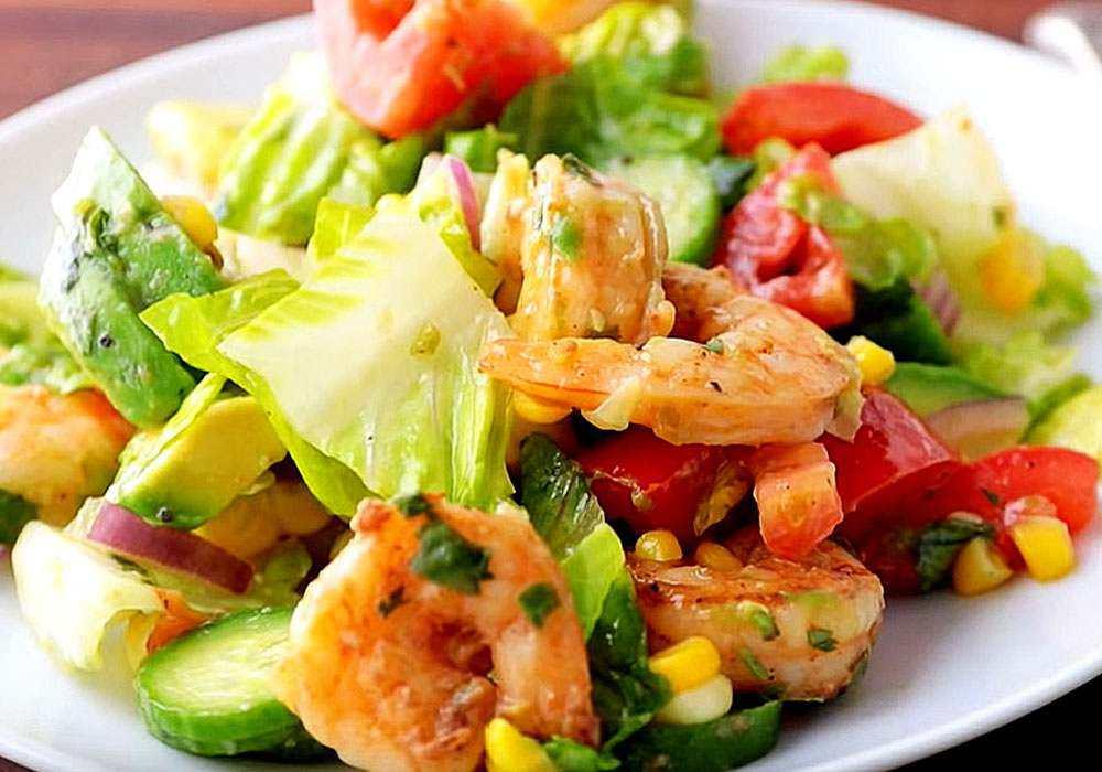 Салат з креветками - покроковий рецепт, фото 1