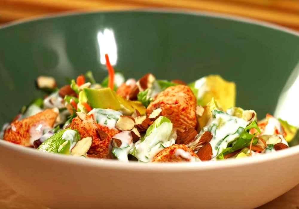 Салат з курячою грудкою - покроковий рецепт, фото 1