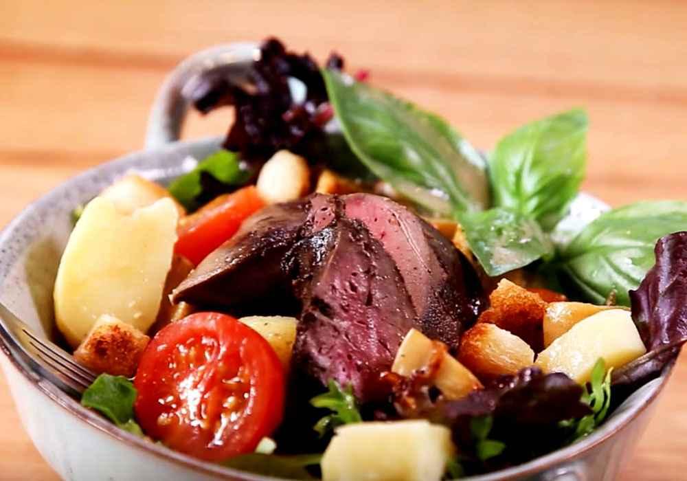 Салат з печінкою - покроковий рецепт, фото 1