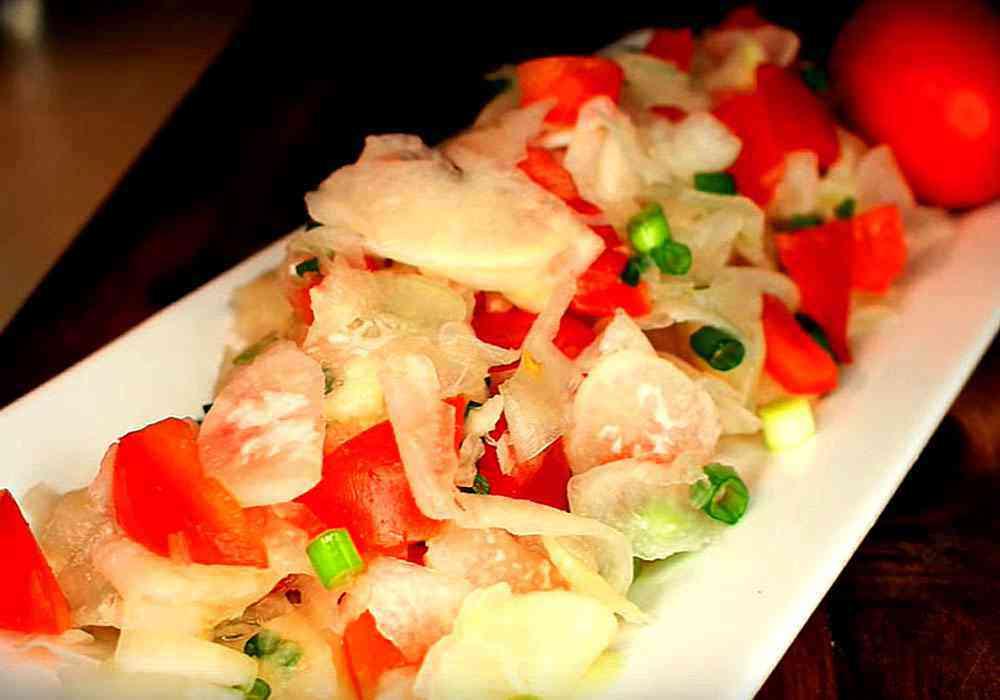 Салат с редькой - пошаговый рецепт, фото 1