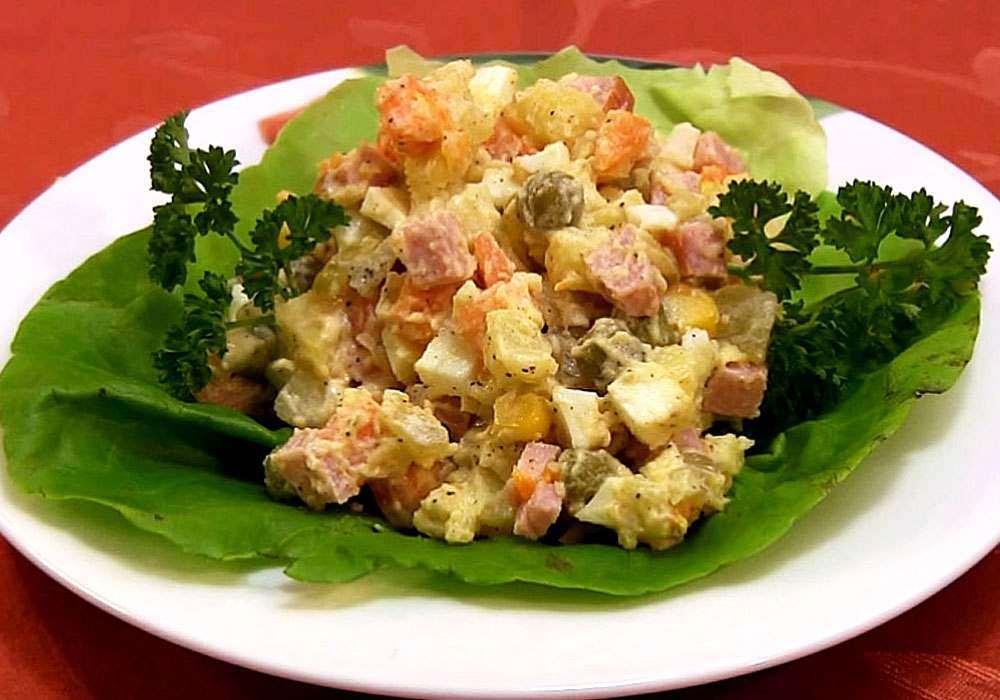 Салат Столичний - покроковий рецепт, фото 1
