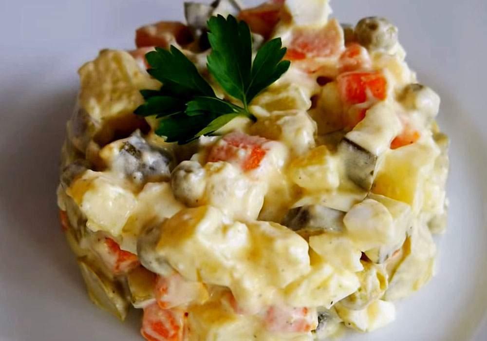 Салат столичный классический - пошаговый рецепт, фото 1