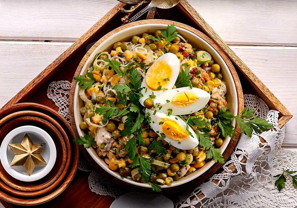 Салат столичний на Новий рік - покроковий рецепт, фото 1