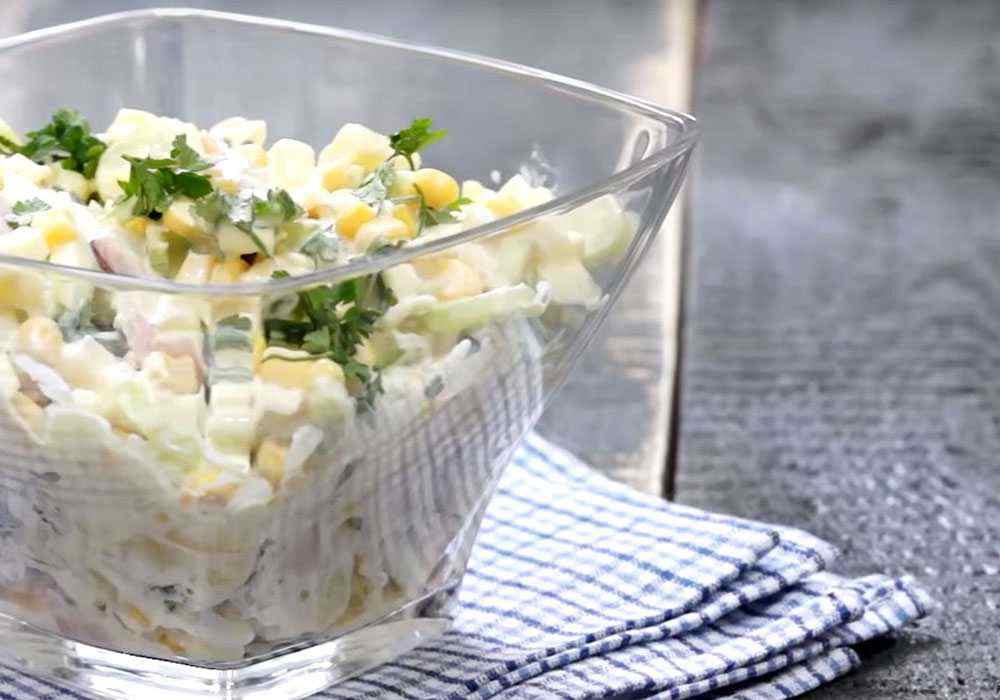Салат столичний з м'ясом - покроковий рецепт, фото 1