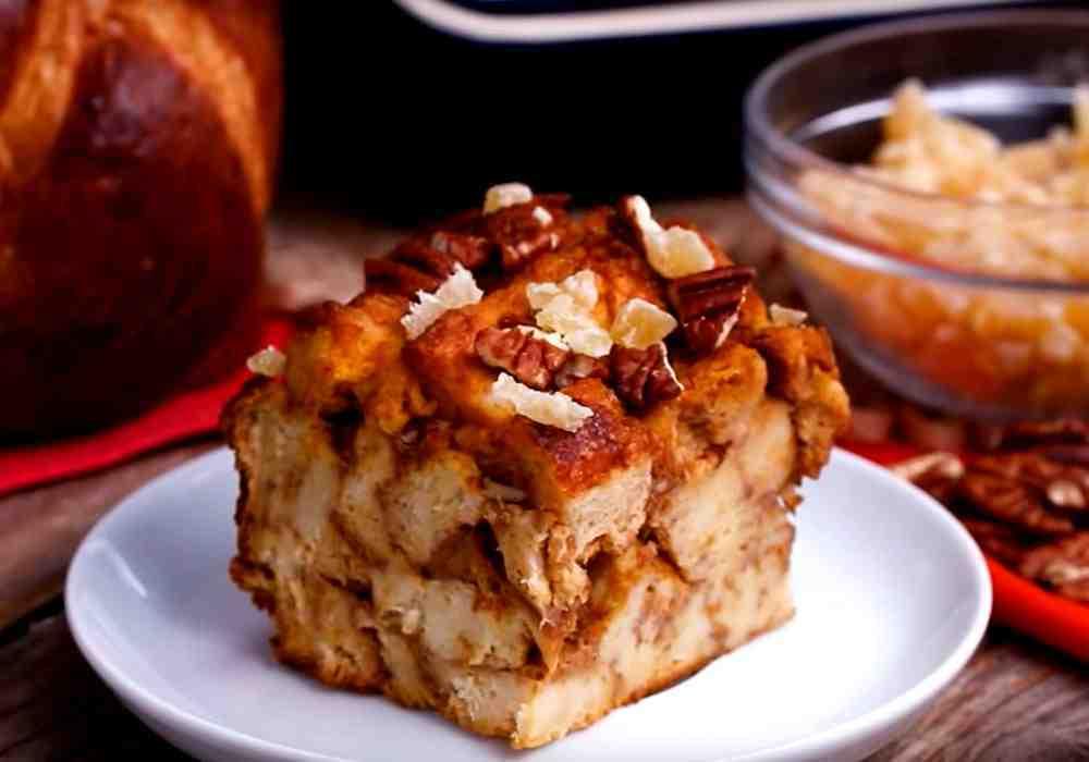Шарлотка из черствого хлеба - пошаговый рецепт, фото 1