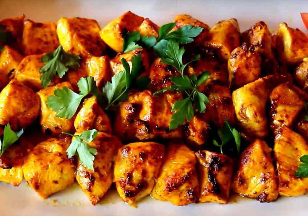 Шашлык из курицы в майонезе - пошаговый рецепт, фото 1