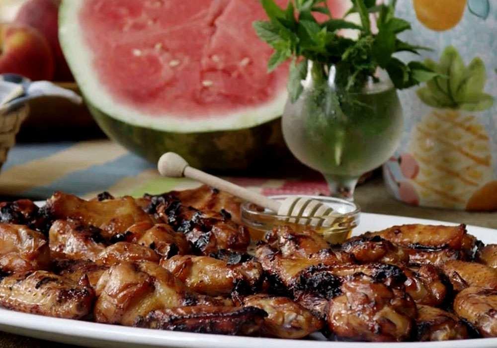 Шашлык из куриных крылышек - пошаговый рецепт, фото 1