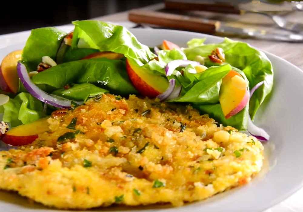Шницель из курицы на сковороде - пошаговый рецепт, фото 1