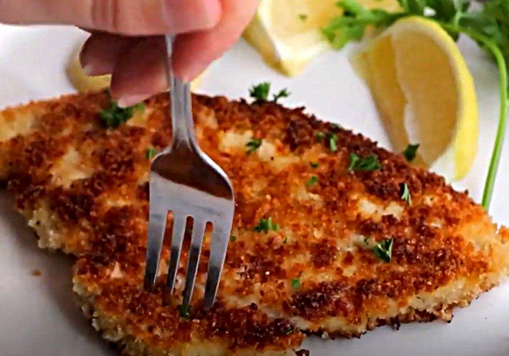 Шницель из курицы - пошаговый рецепт, фото 1
