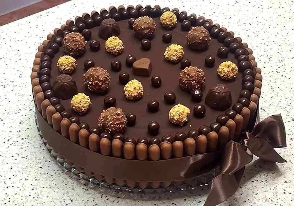 Шоколадный торт - пошаговый рецепт, фото 1