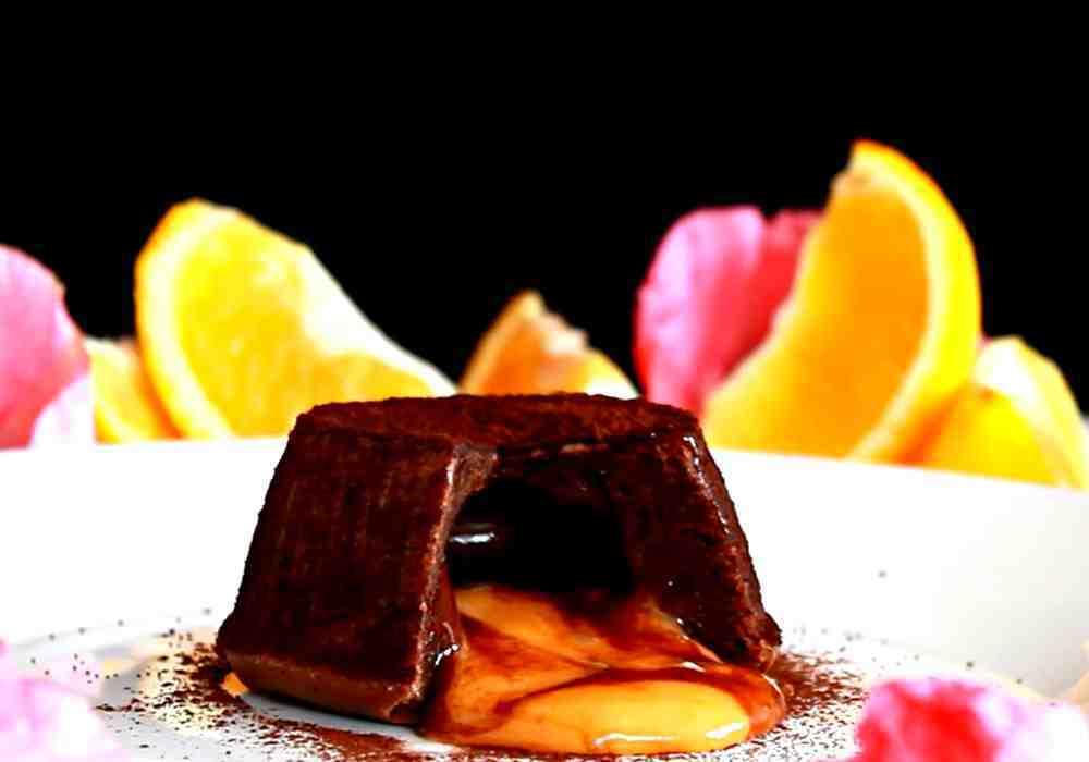 Шоколадно-апельсиновый фондан - пошаговый рецепт, фото 1