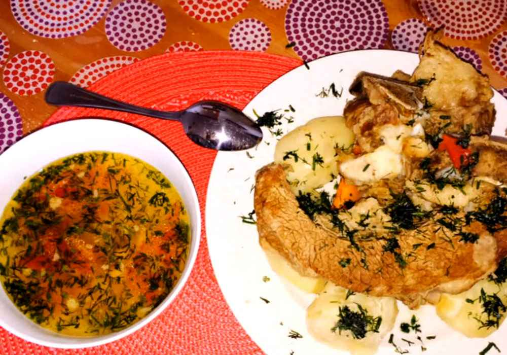 Шурпа по татарськи - покроковий рецепт, фото 1