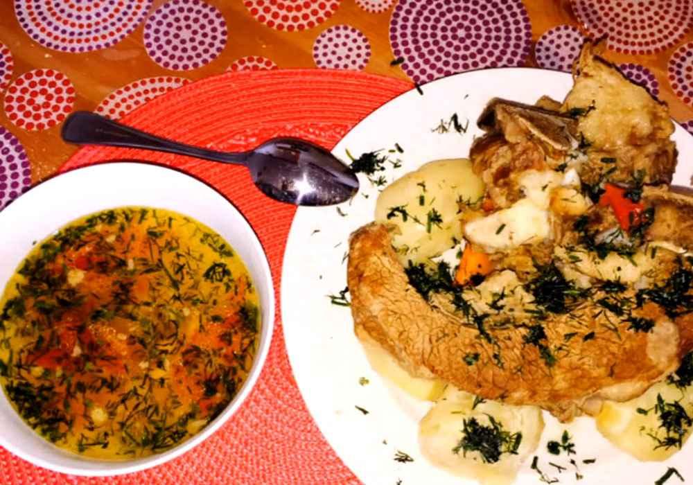 Шурпа по татарски - пошаговый рецепт, фото 1