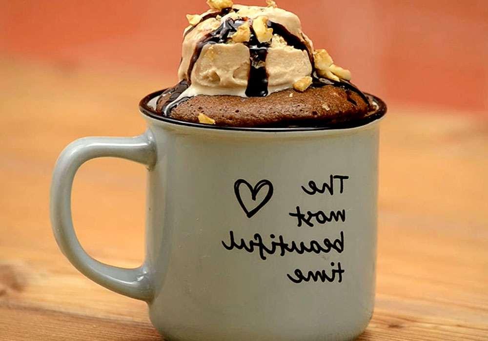Шоколадний кекс в кухлі - покроковий рецепт, фото 1