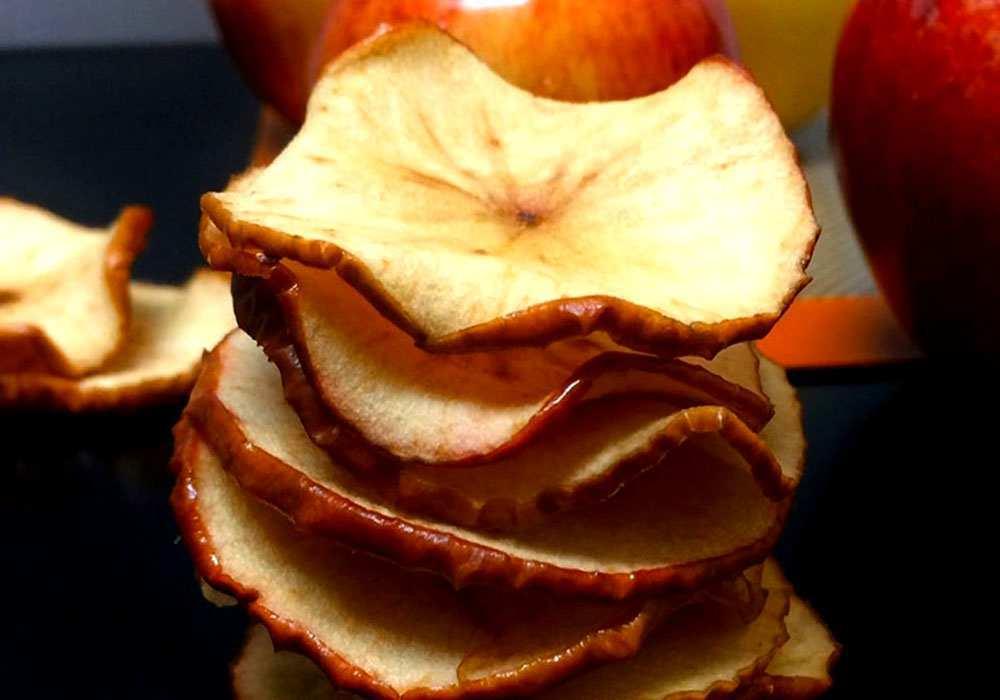 Сушеные яблоки в духовке - пошаговый рецепт, фото 1