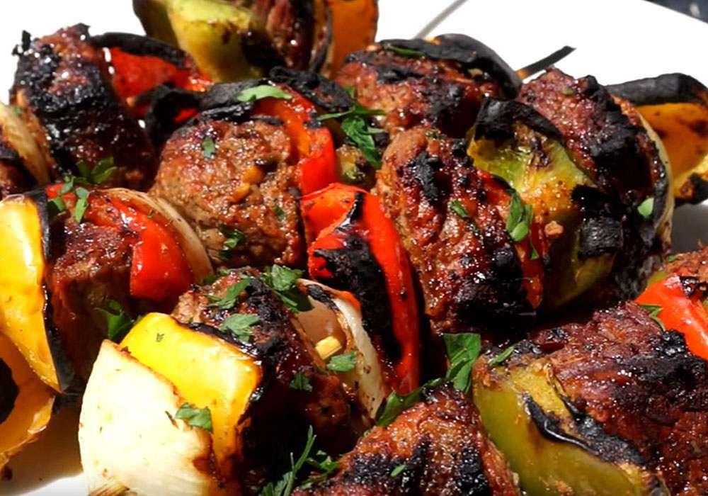 Шашлык из говядины - пошаговый рецепт, фото 1