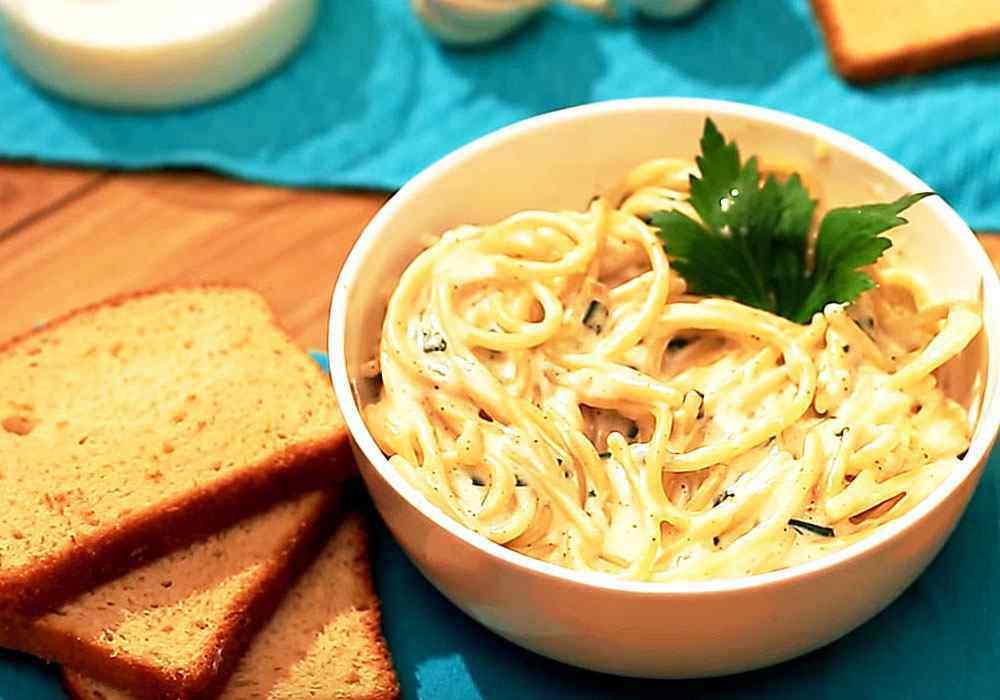 Сырный соус с макаронами - пошаговый рецепт, фото 1