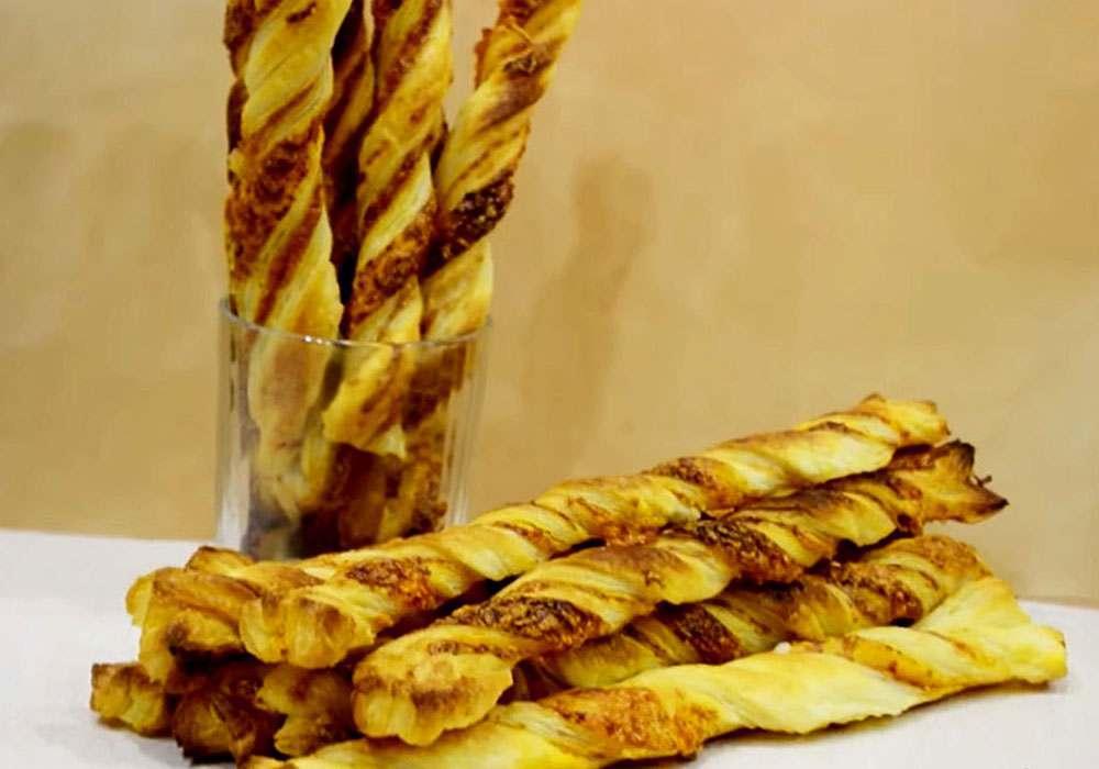 Пікантні сирні палички - покроковий рецепт, фото 1
