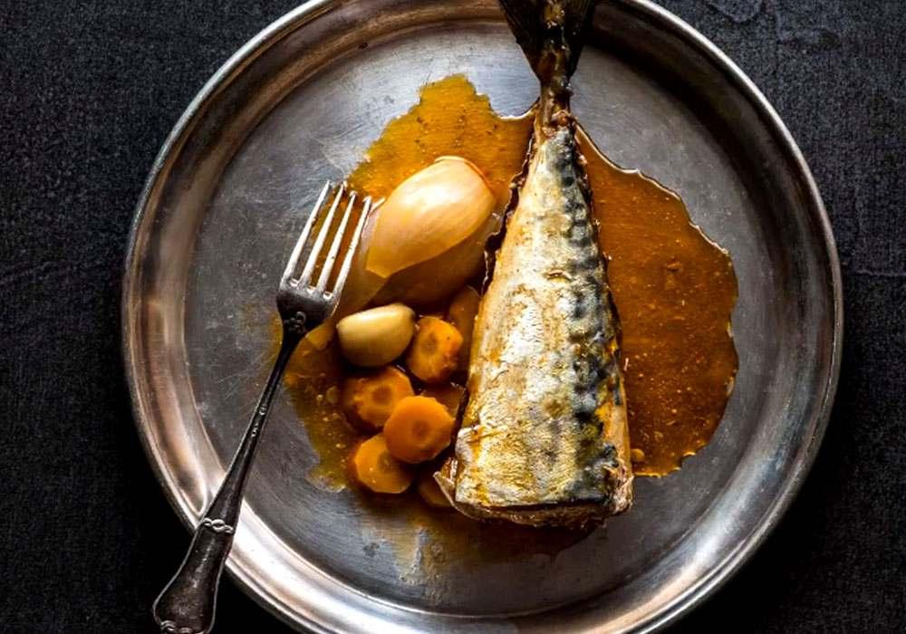 Скумбрія домашня маринована - покроковий рецепт, фото 1