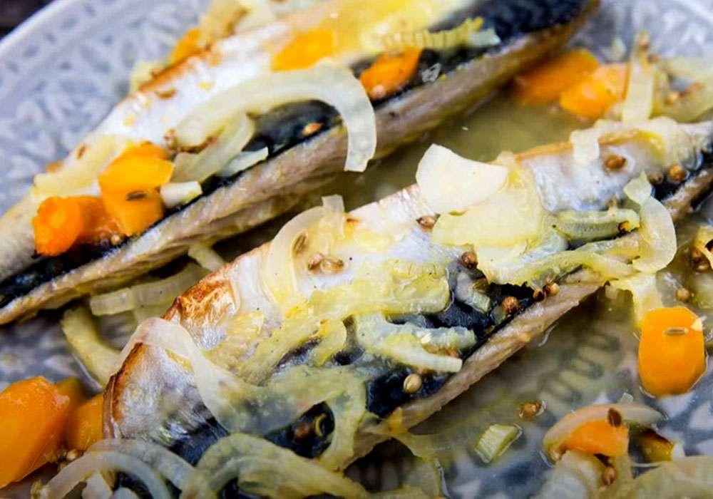 Скумбрия в духовке - пошаговый рецепт, фото 1