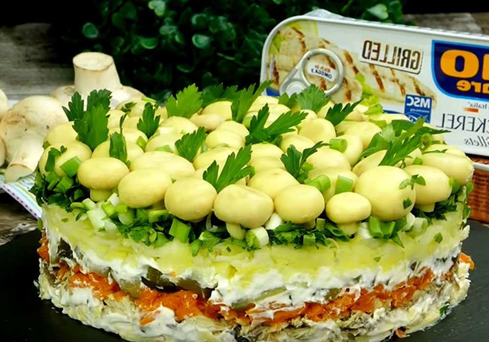 салат лесная быль рецепт с фото красивые летние сапожки