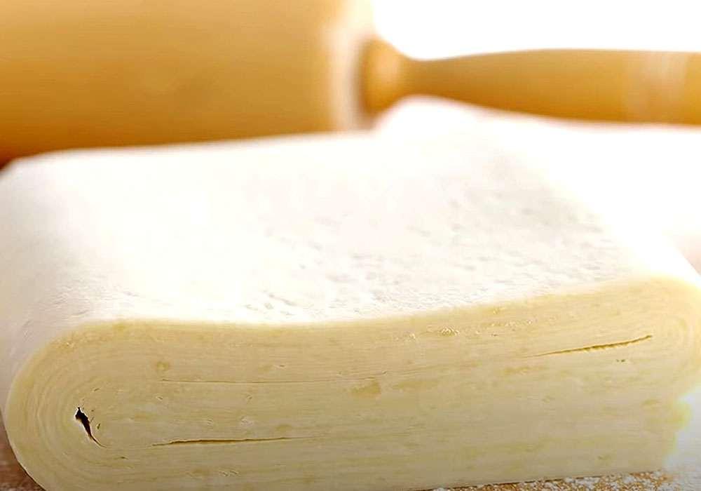 Слоеное тесто - пошаговый рецепт, фото 1