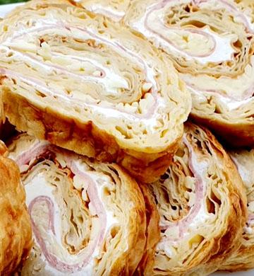 Рулет из лаваша - пошаговый рецепт, фото 1