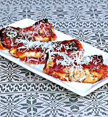 Рулетики из баклажан с сыром - пошаговый рецепт, фото 1