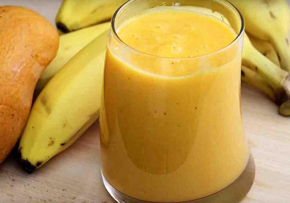 Смузи из манго и банана - пошаговый рецепт, фото 1
