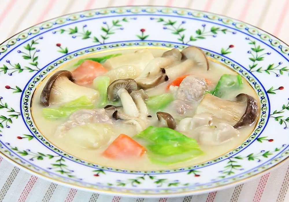 Солянка грибна з капустою - покроковий рецепт, фото 1
