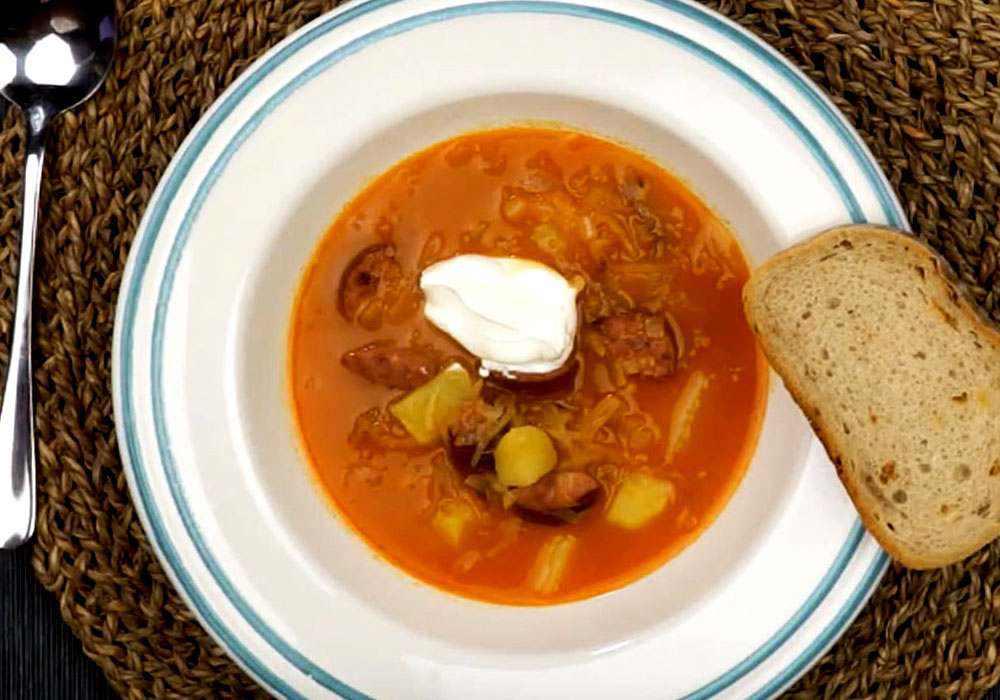 Солянка из квашеной капусты - пошаговый рецепт, фото 1