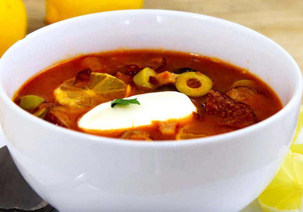 Солянка на курином бульоне - пошаговый рецепт, фото 1