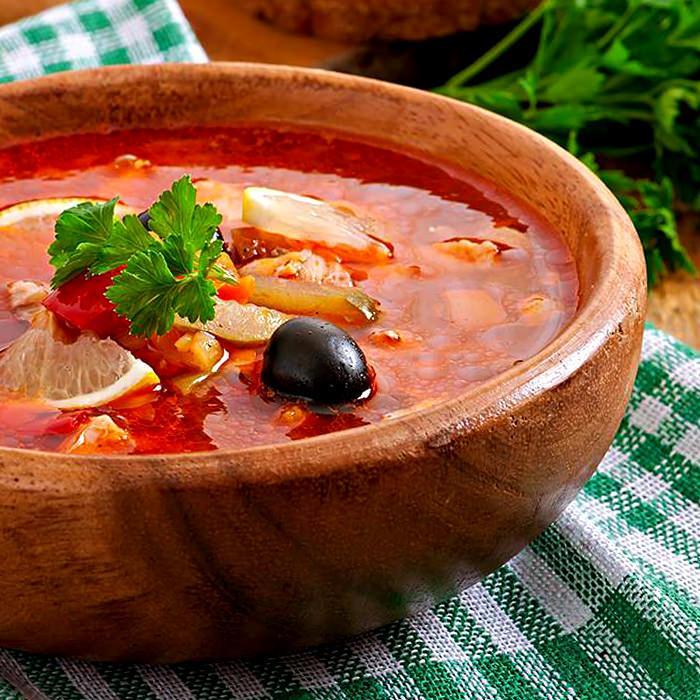 Солянка - пошаговый рецепт, фото 1